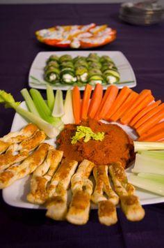 Moje Menu: Zdrowe, warzywne przekąski na imprezy