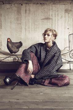 LÖWE fashionbook on Behance