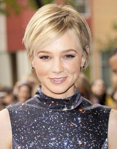 Longer pixie cut - Carey Mulligan