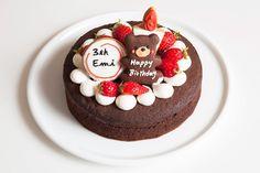Cute Desserts, Delicious Desserts, Yummy Food, Korea Cake, Kawaii Dessert, Round Cakes, Box Cake, Cute Cakes, Beautiful Cakes