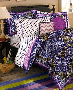 Teen Vogue Bedding, Samara Batik Comforter Sets - Bed in a Bag - Bed & Bath - Macy's