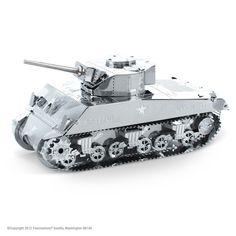 Metal Earth United States Sherman Tank 3D Model Kit