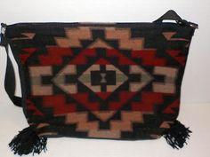 New-SOUTHWESTERN-Aztec-Native-Print-WOMENS-Acrylic-Shoulder-Bag-Purse-Western-h