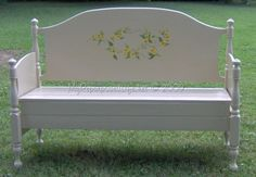 """Edited July 2011 I have a new way to attach the sides to the headboard. You can see my latest Bench Tutorials in my post Twin Headboard Bench """"Welcome"""" and Twin Headboard Bench Tutorial Some people have written me asking about how to make these headboard benches. When we (Cathy and me) made these benches,..."""