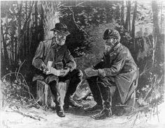 Lee and Jackson at Chancellorsville | Lee and Jackson at Chancellorsville