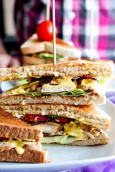 Mad på 4 sal: Club sandwich