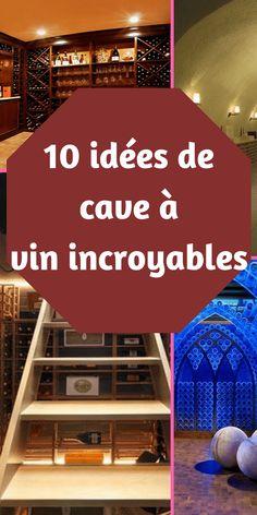 Il est toujours important de s'inspirer de belles cave à vin et de rêver de magnifiques caves à vins! 10 idées de cave à vin incroyables #conseils #deco #décoration #wine #cave #apero