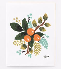 Rifle Paper Company floral cards and prints