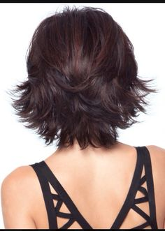 Back view of a great short hair cut!
