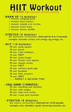 20 HIIT Weight Loss Workouts That Will Shrink Belly Fat! #WeightLossWorkout | Posted By: CustomWeightLossProgram.com