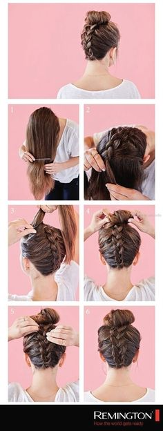 How to do a messy bun shoulder length quick hairstyles 24 super ideas – Easy Hairstyles Hairstyles For Medium Length Hair Tutorial, Medium Length Hair Up, Easy Hairstyles For Medium Hair, Step By Step Hairstyles, Quick Hairstyles, Medium Hair Styles, Curly Hair Styles, Girl Hairstyles, Toddler Hairstyles