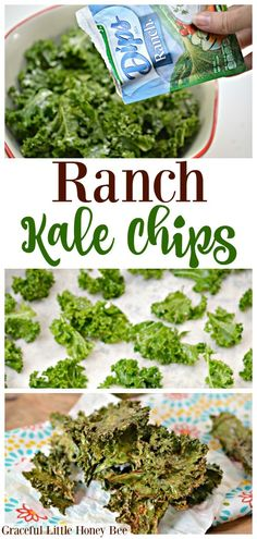 Recipes Snacks Baking Try these super easy Ranch Kale Chips for a quick and healthy snack idea on gracefullittlehon. Vegan Snacks, Easy Snacks, Chips Kale, Chips Chips, Baked Kale Chips, Clean Eating Snacks, Healthy Eating, Super Healthy Foods, Apple Chips