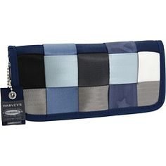 Harveys Seatbelt Bag Clutch Wallet $98.00 & free shipping. Lots of colors to choose from.