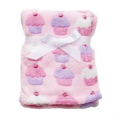 Amazon.com: Cutie Pie Soft Baby Blanket Sweet Cupcakes/cupcake Pink: Cutie Pie Baby: Baby