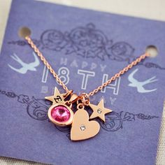 Design Your Own Personalised Heart Necklace from notonthehighstreet.com