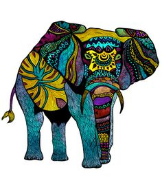 Vandal - Elephant of Namibia by Pom Graphic Design
