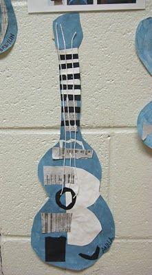 Pablo Picasso Blue Guitars