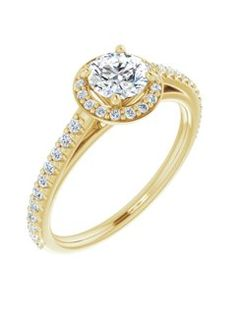 GemApex - 14K Yellow Gold Ring Band Wedding Diamond Round , Size 9 - Walmart.com - Walmart.com
