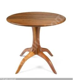 Sam Maloof pedestal table