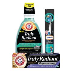 The ARM & HAMMER™ Truly Radiant™ Family of Products