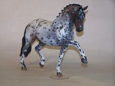 """Leo"", a custom painted Breyer Totillas by Claire Williams"