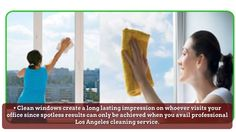 Companies that offer services for window cleaning Los Angeles are adept at cleaning the windows of high-rise buildings.Log on http://www.constructioncleanup.com/
