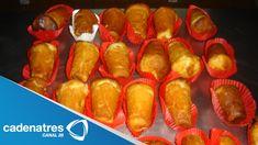 Receta de borrachitos / Cómo hacer borrachitos / Pan con alcohol - YouTube Mexican Food Recipes, Dessert Recipes, Delicious Desserts, Yummy Food, Juice Fast, Pan Dulce, Sweet Bread, Cake Cookies, Finger Foods
