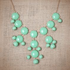 The JCREW Bubble Necklace I want so bad for $20!!!