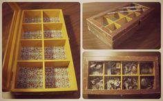 caixa MDF ...