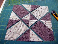 Earlier this week I showed a D4P block I had whipped up for a mug rug. Missy wrote and asked if I would be willing to share a tutorial. Of c...