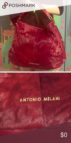 🌺🌺GORGEOUS 🌺🌺 🌺🌺Burgundy Beauty. It looks lighter on the pics however it's a deep burgundy. Very pretty Love this bag 🌺🌺 ANTONIO MELANI Bags Hobos