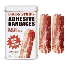 Bacon Bandages:Amazon:Grocery & Gourmet Food