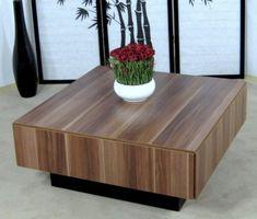 Couchtisch Kernnuss Nussbaum Tisch Wohnzimmertisch Sofatisch Couch