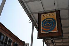 NOLA's restaurant.