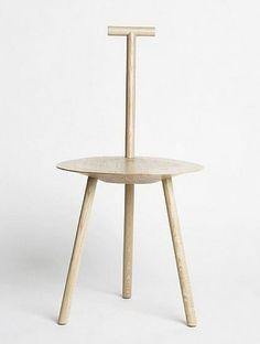 Faye Toogood's Spade Chair Ash: Remodelista