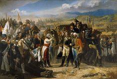 la rendición del general francés  Dupont  tras la derrota del ejército francés en la batalla de Bailén