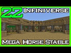 Fingers crossed but I'm hoping you'll love this: Minecraft Infiniverse [22] 'Mega Horse Stables' https://youtube.com/watch?v=eLoSvjebgVc