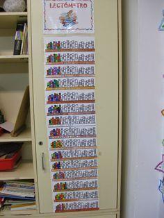 La biblioteca de aula es el espacio lector más próximo y cotidiano en el escenario de la enseñanza y el aprendizaje escolar. Es ... I School, School Classroom, Primary School, Classroom Decor, Class Decoration, School Decorations, Classroom Organization, Classroom Management, 5th Grade Activities