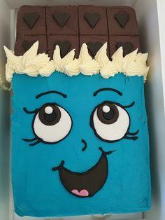 Shopkins Cheeky Chocolate Buttercream Birthday Cake