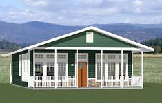 Details about House - 2 Bedroom 2 Bath - sq ft - PDF Floor Plan - Model - Trend Anbau Ideen 2020 Small House Floor Plans, Pole Barn House Plans, Pole Barn Homes, Garage Plans, Shed Plans, Small House Plans Under 1000 Sq Ft, Barn Style House Plans, The Doors, House 2