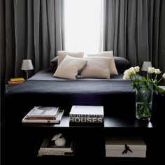 black master bedroom decor, sophisticated decor, for more ideas and inspirations:http://www.bocadolobo.com/en/inspiration-and-ideas/