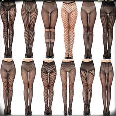 Google search pattered fishnets