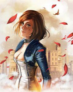 Bioshock Infinte: Elizabeth - by Msppice