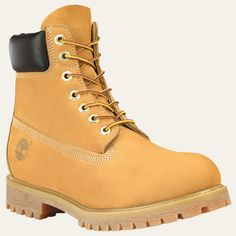 Timberland Premium Boots in Wheat Nubuck // Tan work boots Mens Waterproof Boots, Timberland Waterproof Boots, Timberland Premium, Timberland Mens, Wheat Timberland Boots, Timberland Classic Boots, Timberland Stiefel Outfit, Ugg Boots, Shoe Boots