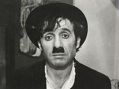 Chespirito as Chaplin.
