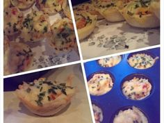 quick and tasty bread cups
