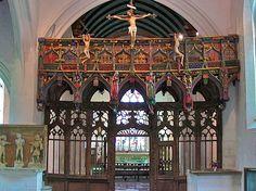 Chapelle Saint-Fiacre. Le Faouet. Bretagne