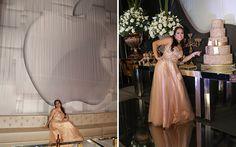 Noite dos deuses: esse foi o tema da festa luxuosa da Maria Eduarda Fontenele
