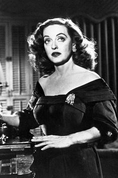 ".Bette Davis in ""All About Eve"""