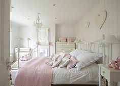 little girls, white bedrooms, pink, little girl rooms, white interiors